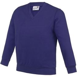 vaatteet Lapset Svetari Awdis AC03J Purple