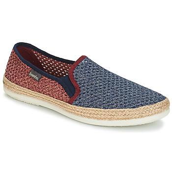 kengät Miehet Espadrillot Bamba By Victoria ANDRE ELASTICOS REJILLA BICO Sininen / Punainen