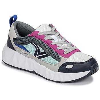 kengät Naiset Matalavartiset tennarit Victoria ARISTA MULTICOLOR White / Pink