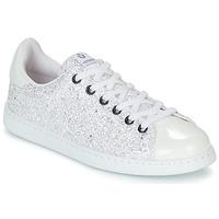 kengät Naiset Matalavartiset tennarit Victoria TENIS GLITTER White