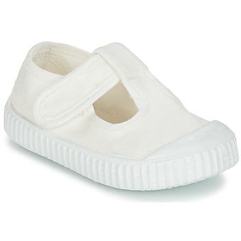 kengät Lapset Balleriinat Victoria SANDALIA LONA TINTADA White