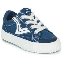 kengät Lapset Matalavartiset tennarit Victoria TRIBU LONA RETRO Sininen