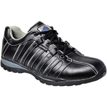 kengät Miehet Turvakenkä Portwest PW324 Black