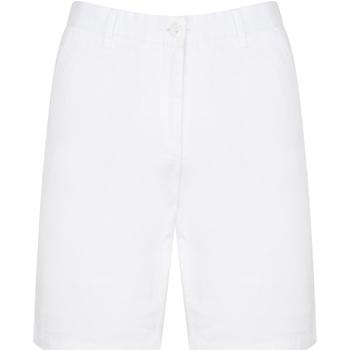 vaatteet Miehet Shortsit / Bermuda-shortsit Front Row FR605 White