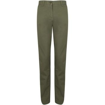 vaatteet Naiset Chino-housut / Porkkanahousut Front Row FR622 Khaki