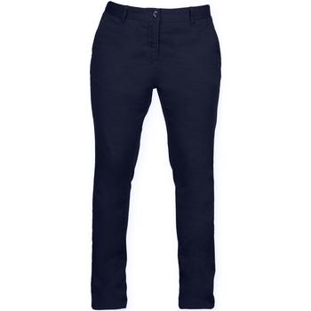 vaatteet Naiset Chino-housut / Porkkanahousut Front Row FR622 Navy