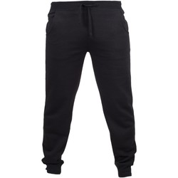 vaatteet Miehet Verryttelyhousut Skinni Fit Cuffed Black