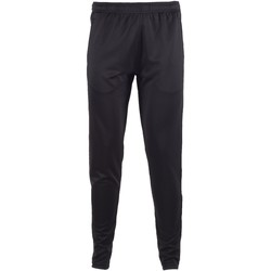 vaatteet Miehet Verryttelyhousut Tombo Teamsport TL580 Black