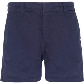vaatteet Naiset Shortsit / Bermuda-shortsit Asquith & Fox AQ061 Navy