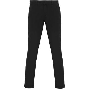 vaatteet Naiset Chino-housut / Porkkanahousut Asquith & Fox Chino Black