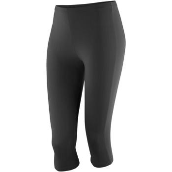 vaatteet Naiset Legginsit Spiro S284F Black