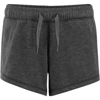 vaatteet Naiset Shortsit / Bermuda-shortsit Comfy Co CC055 Charcoal
