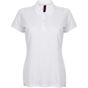 vaatteet Naiset Lyhythihainen poolopaita Henbury HB102 White