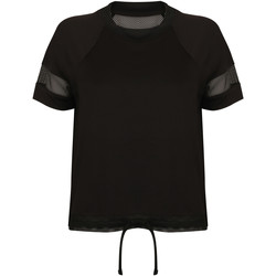 vaatteet Naiset Lyhythihainen t-paita Tombo TL526 Black