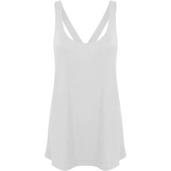 vaatteet Naiset Hihattomat paidat / Hihattomat t-paidat Skinni Fit Workout White