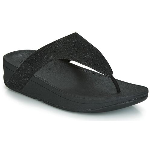 kengät Naiset Varvassandaalit FitFlop LOTTIE GLITZY Black