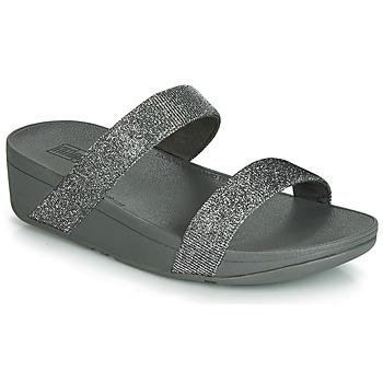 kengät Naiset Sandaalit FitFlop LOTTIE GLITZY SLIDE Hopea