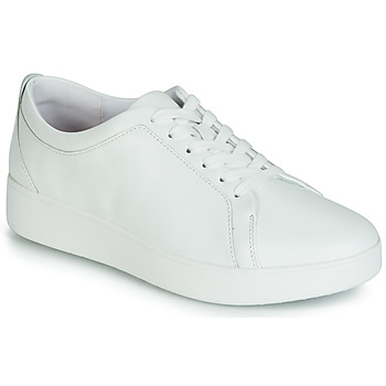 kengät Naiset Matalavartiset tennarit FitFlop RALLY SNEAKER White