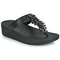 kengät Naiset Varvassandaalit FitFlop JIVE TREASURE Black