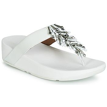 kengät Naiset Varvassandaalit FitFlop JIVE TREASURE White
