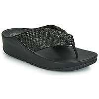 kengät Naiset Varvassandaalit FitFlop TWISS CRYSTAL Black