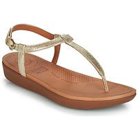 kengät Naiset Sandaalit ja avokkaat FitFlop TIA Kulta