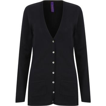vaatteet Naiset Neuleet / Villatakit Henbury Fine Knit Navy