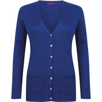 vaatteet Naiset Neuleet / Villatakit Henbury Fine Knit Royal