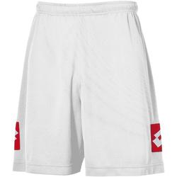 vaatteet Miehet Shortsit / Bermuda-shortsit Lotto LT009 White