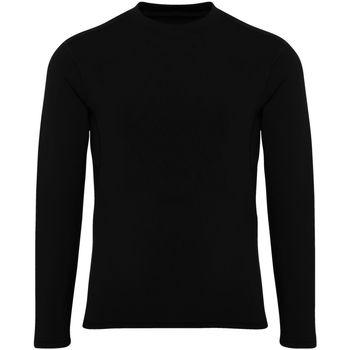 vaatteet Pojat T-paidat pitkillä hihoilla Tridri TR16B Black