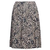 vaatteet Naiset Hame Betty London J.WILD TIME Beige / Musta