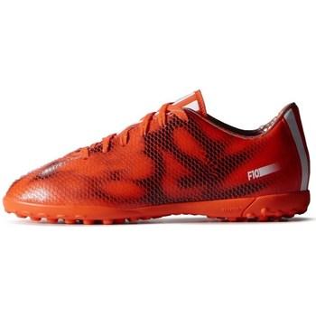 kengät Lapset Jalkapallokengät adidas Originals F10 TF J Mustat, Oranssin väriset