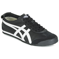 kengät Matalavartiset tennarit Onitsuka Tiger MEXICO 66 LEATHER Black / White