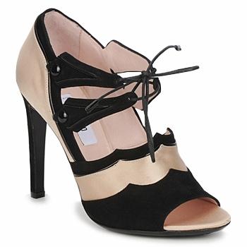 kengät Naiset Sandaalit ja avokkaat Moschino MA1601 100-raso-nude-cane