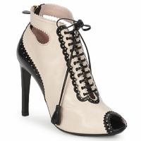 kengät Naiset Nilkkurit Moschino MA1602A Beige
