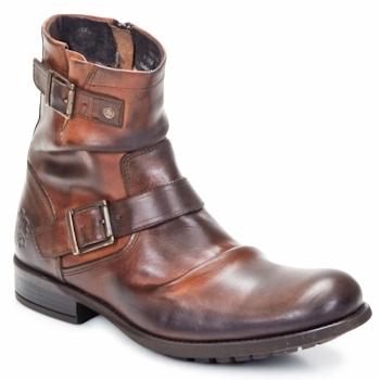 kengät Miehet Bootsit Base London METAL Ruskea