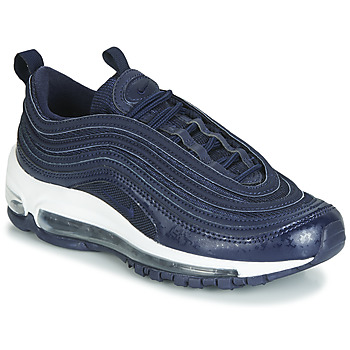 kengät Pojat Matalavartiset tennarit Nike AIR MAX 97 GS Blue