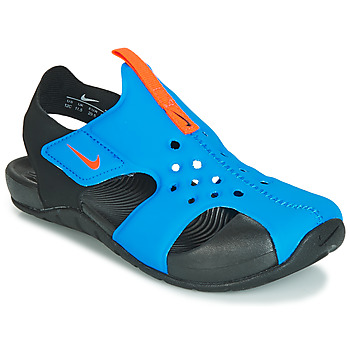 kengät Lapset Sandaalit ja avokkaat Nike SUNRAY PROTECT 2 PS Black / Blue
