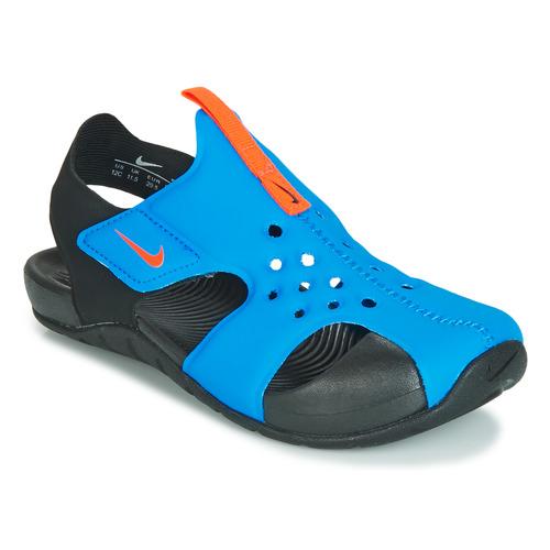 kengät Lapset Sandaalit ja avokkaat Nike SUNRAY PROTECT 2 PS Black / Blue