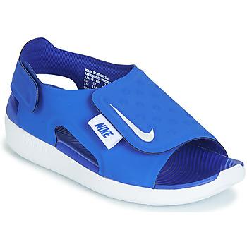 free shipping 00ba3 a2868 kengät Pojat Sandaalit ja avokkaat Nike SUNRAY ADJUST 5 Blue