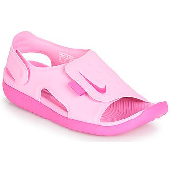 kengät Tytöt Sandaalit ja avokkaat Nike SUNRAY ADJUST 5 Pink