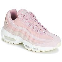 kengät Naiset Matalavartiset tennarit Nike AIR MAX 95 PREMIUM W Pink