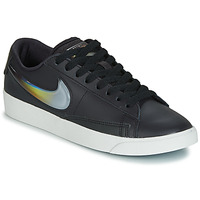 kengät Naiset Matalavartiset tennarit Nike BLAZER LOW LX W Black / Hopea